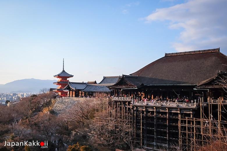 วัดคิโยมิสึเดระ (Kiyomizu-dera Temple / 清水寺)