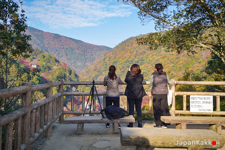 จุดชมวิวอาราชิยาม่า (Arashiyama Park Observation Deck)