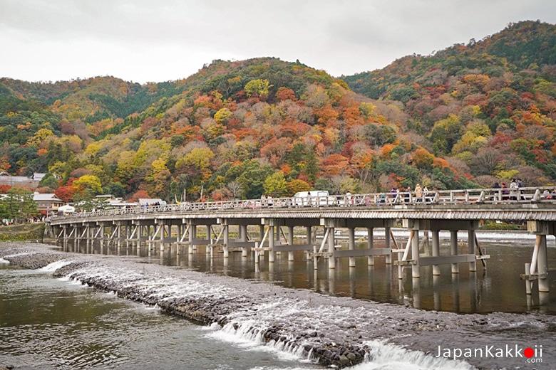 สะพานโทเก็ตสึเคียว (Togetsukyo Bridge / 渡月橋)