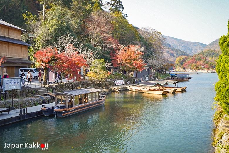 Hoshinoya Kyoto Boat Waiting Room