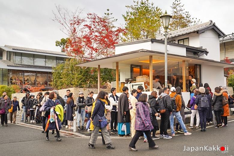ร้านกาแฟ % Arabica Kyoto Arashiyama