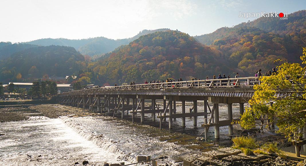 สะพานโทเก็ตสึเคียว (Togetsukyo Bridge)