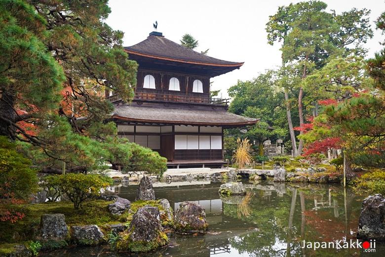 วัดกินคะคุจิ วัดเงิน (Ginkakuji Temple / 銀閣寺)