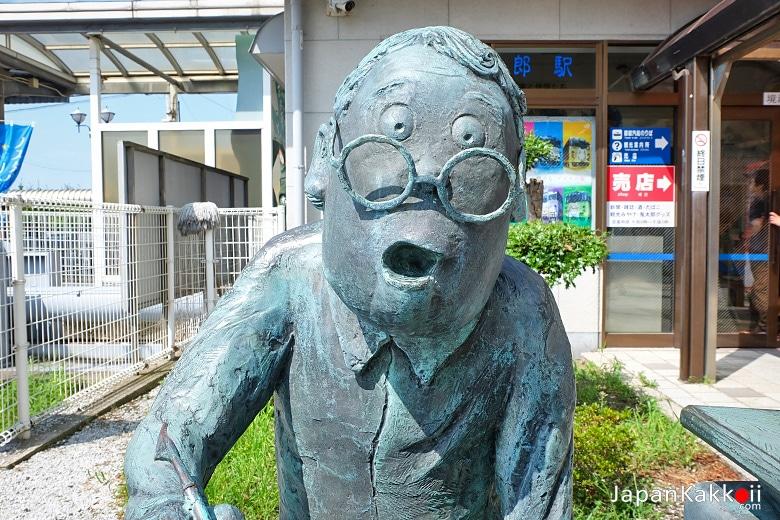 รูปปั้นอาจารย์มิซุกิ ชิเงะรุ