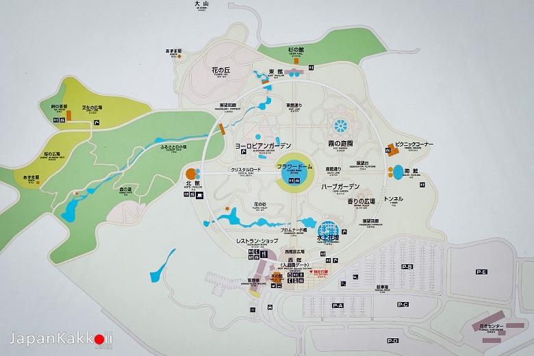 แผนที่สวน