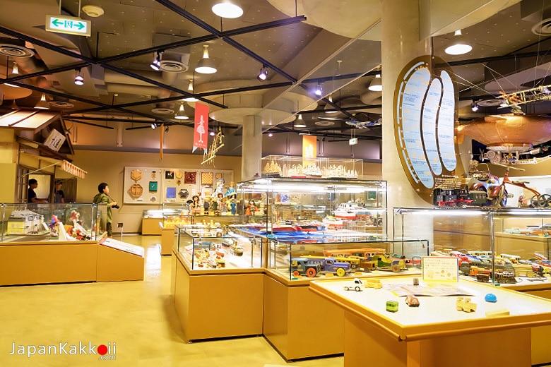 พิพิธภัณฑ์ของเล่นวาราเบะคัง (WarabeKan Toy Museum / わらべ館)
